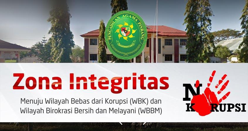 Zona Integritas PA Pinrang